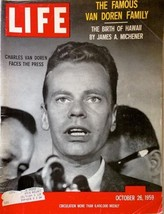 Life Magazine, October 26, 1959   Full Magazine - $9.89