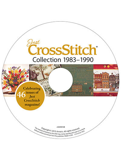 Just Cross Stitch 1983-1990 Collection DVD