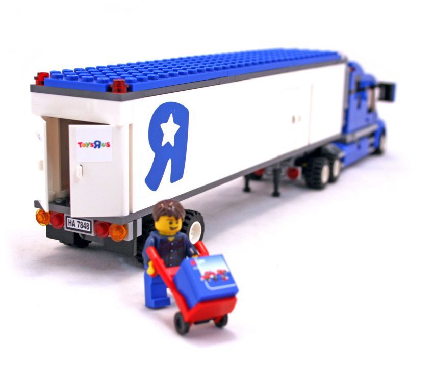 Lego City Toys : Lego city toys r us delivery truck set