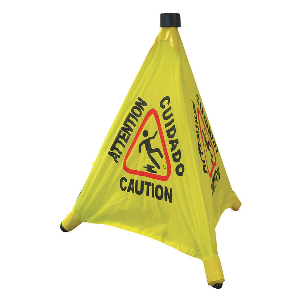 LARGE Pop-Up Safety Cone Wet Floor Sign BUY TODAY BEST PRICE