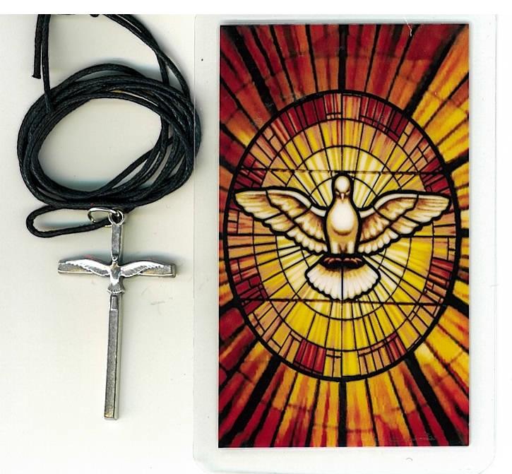 Crucifix   espiritu santo h55.0498 001