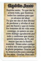 Corded Necklace with Crucifix - Espiritu Santo in Spanish - LH55.0498 image 2