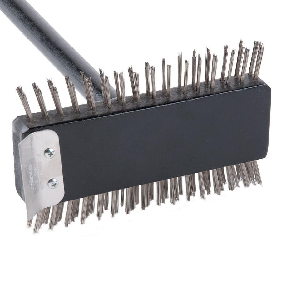 """30"""" Broiler Cleaning Brush with Scraper BEST PRICE! D1D407BR30dD"""