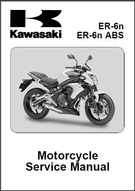 12-15 Kawasaki ER-6n / ER-6n ABS Service Repair Manual CD .. ER-6 ER6n