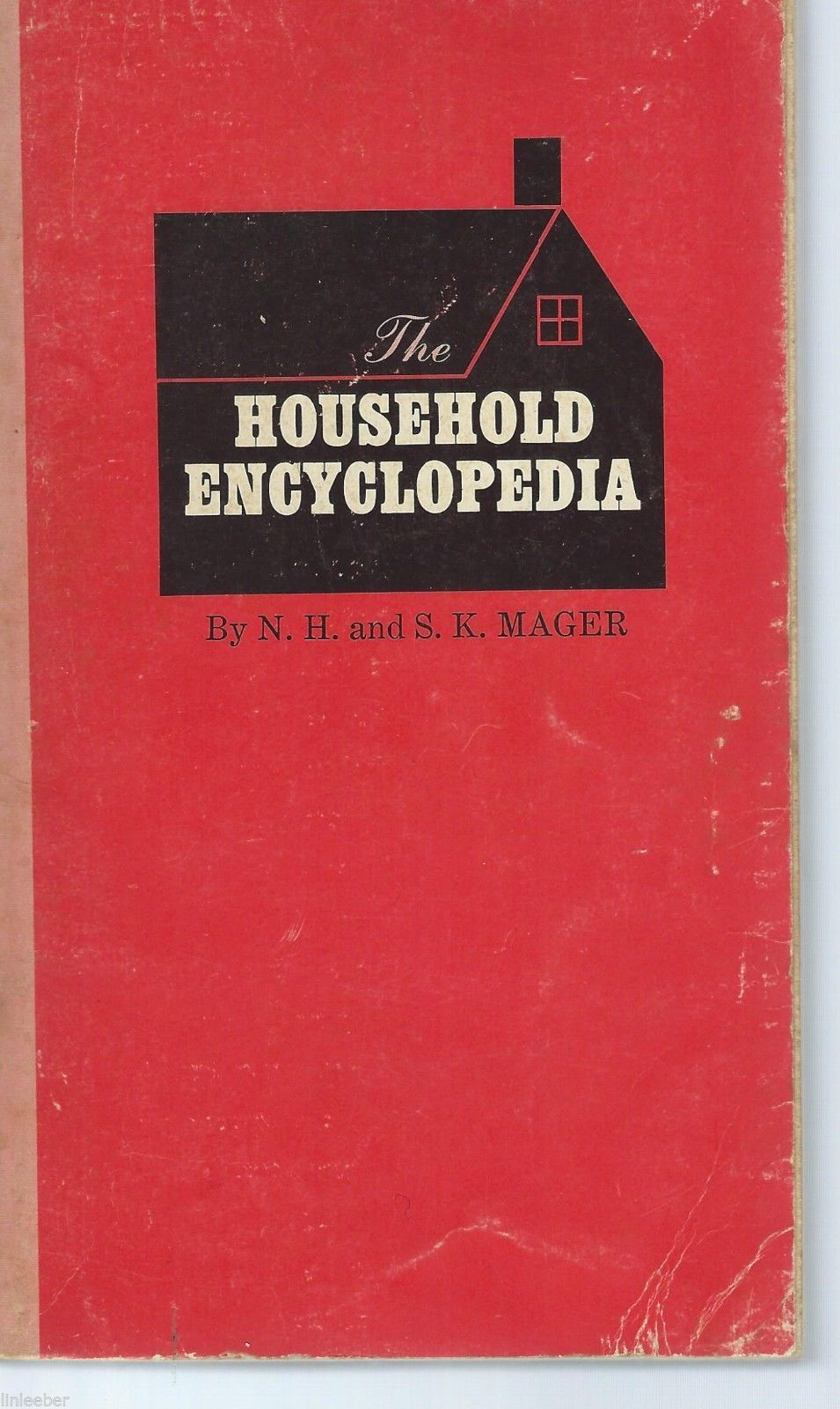 THE HOUSEHOLD ENCYCLOPEDIA-Home Repair Finance Book;1971;12th printing;Pocket B