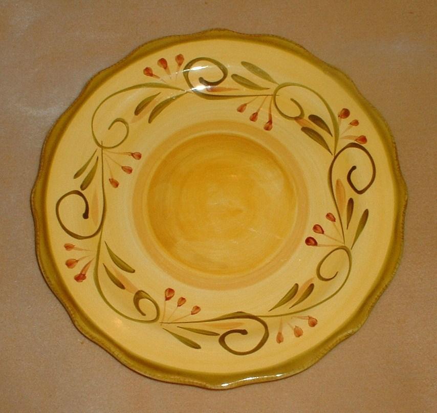 Home Trends Dinner Plate Italian Villa