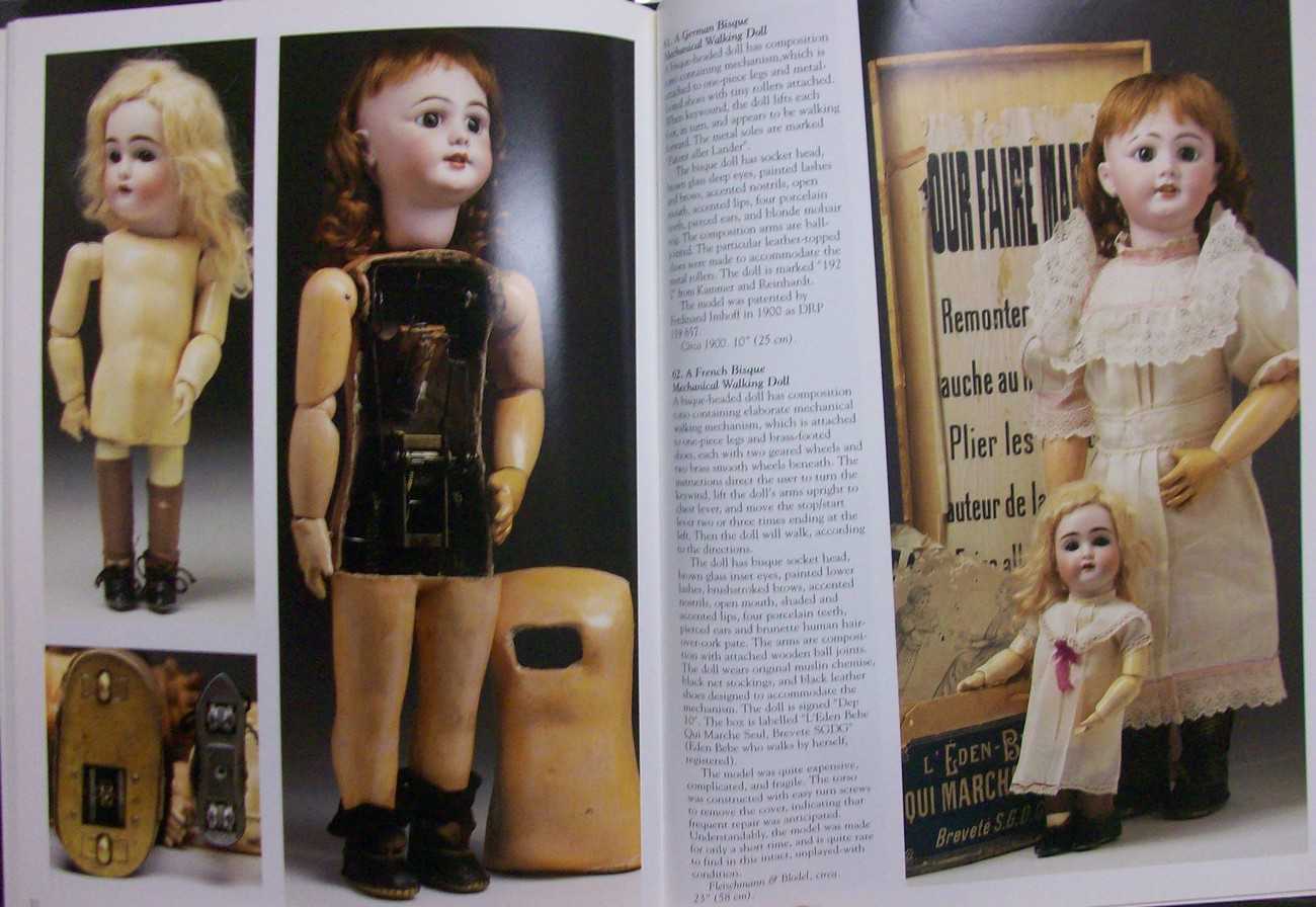 Dolls in Motion 1850-1915 w|CD Theriault Florence