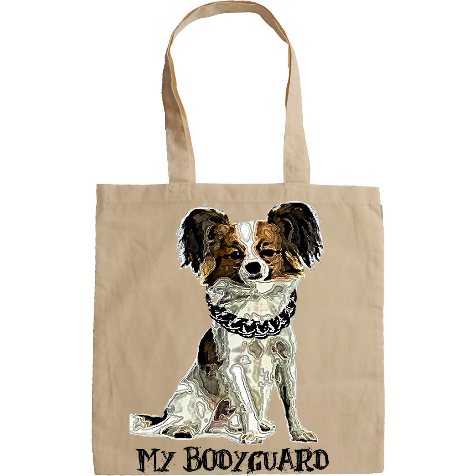 CHIHUAHUA MY BODYGUARD 1 -  NEW AMAZING GRAPHIC HAND BAG/TOTE BAG