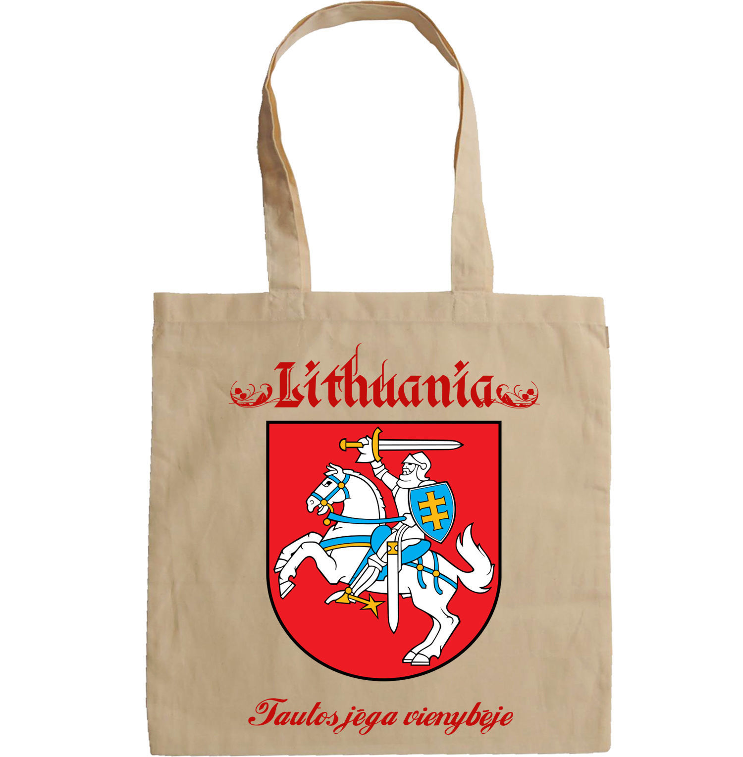 LITHUANIA COAT OF ARMS - NEW AMAZING GRAPHIC HAND BAG/TOTE BAG
