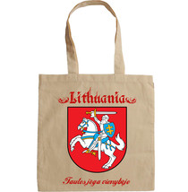 LITHUANIA COAT OF ARMS - NEW AMAZING GRAPHIC HAND BAG/TOTE BAG - $23.60