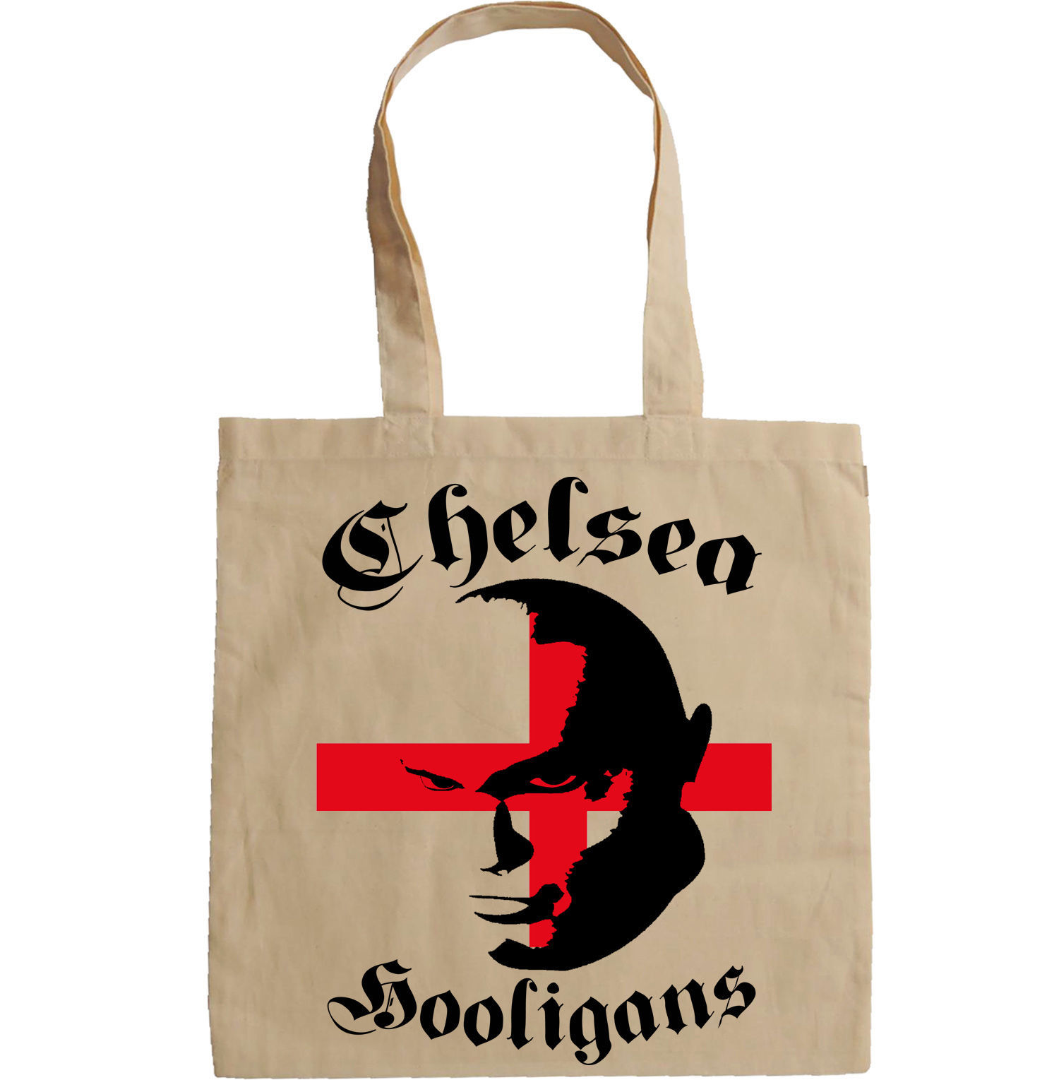 CHELSEA HOOLIGANS - NEW AMAZING GRAPHIC HAND BAG/TOTE BAG