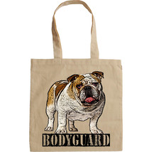 BRITISH BULLDOG - NEW AMAZING GRAPHIC HAND BAG/TOTE BAG - $16.78
