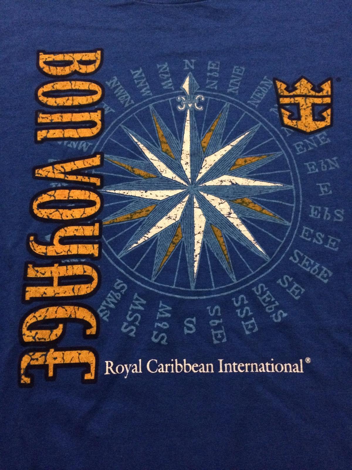 "Royal Caribbean International "" Bon Voyage ""  Cool Cruise T-Shirt Sz 3XL"