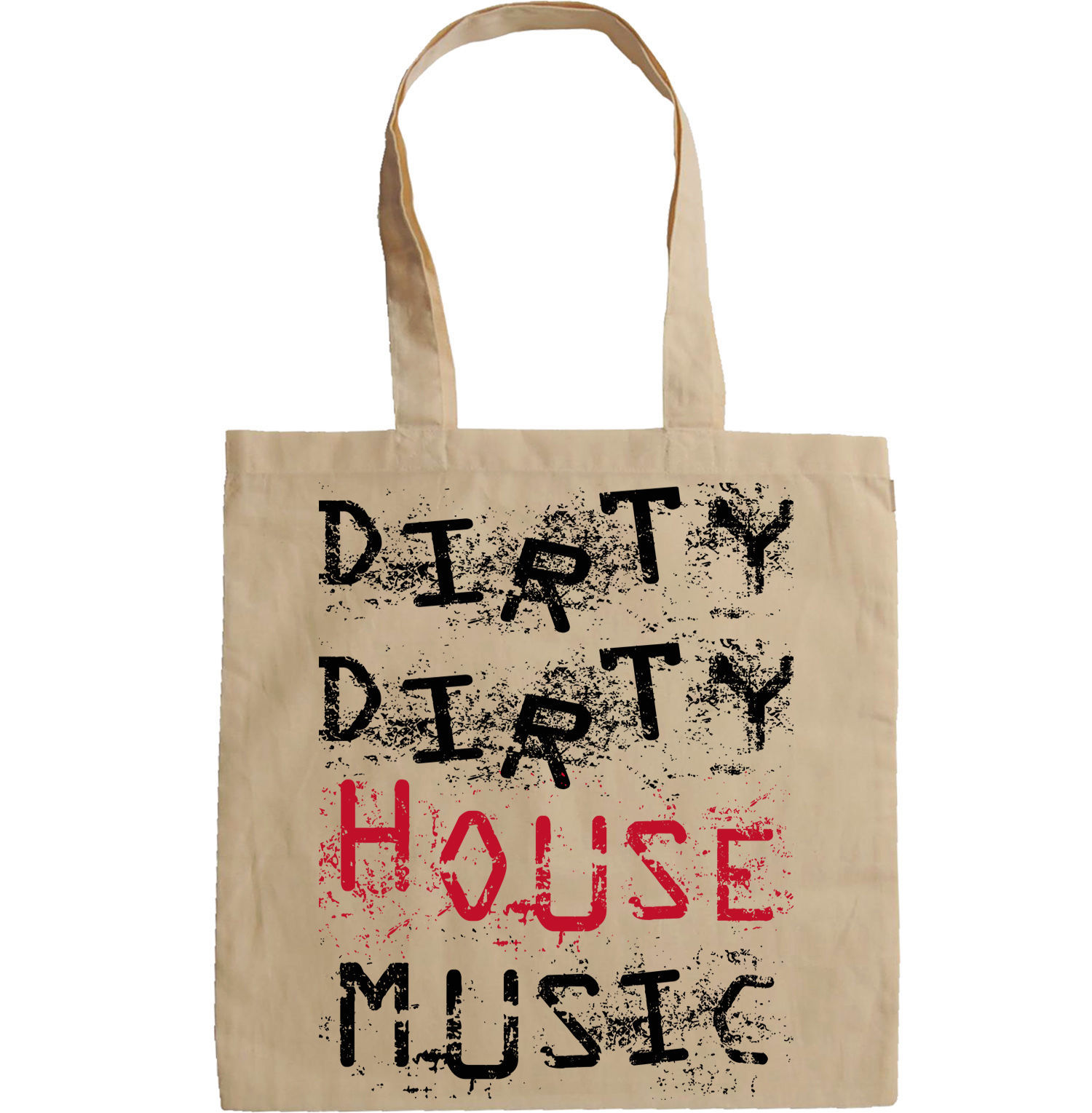 HOUSE MUSIC - NEW AMAZING GRAPHIC HAND BAG/TOTE BAG
