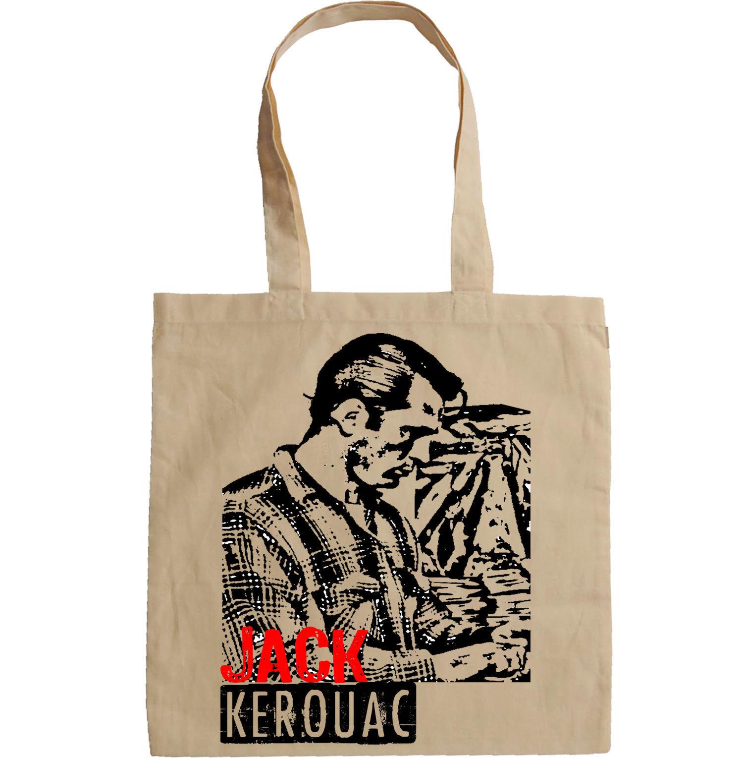 JACK KEROUAC - NEW AMAZING GRAPHIC HAND BAG/TOTE BAG