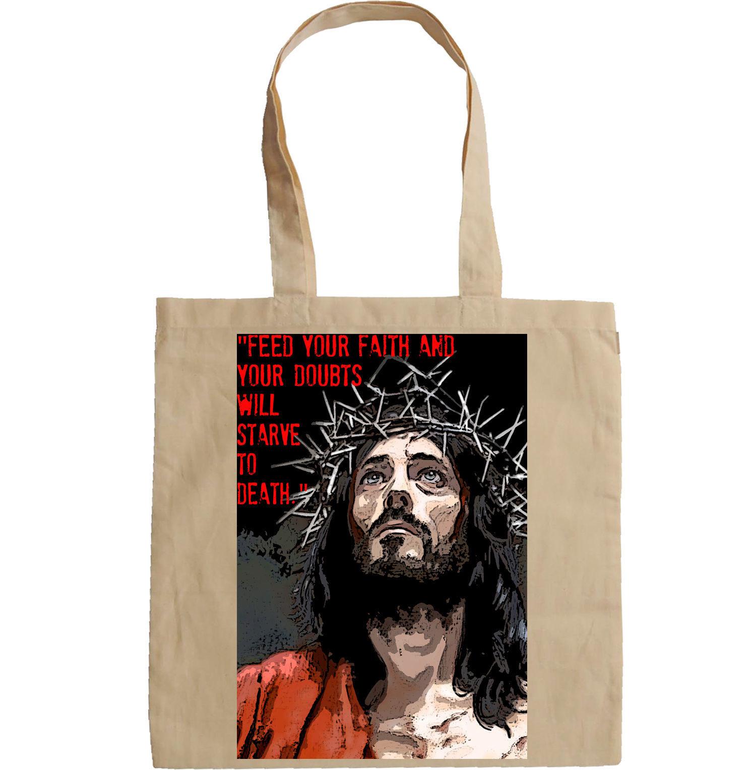 JESUS CHRIST QUOTE - NEW AMAZING GRAPHIC HAND BAG/TOTE BAG
