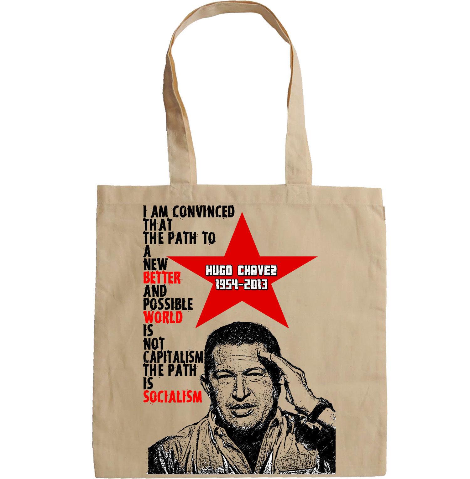 HUGO CHAVEZ VENEZUELA PRESIDENT - NEW AMAZING GRAPHIC HAND BAG/TOTE BAG