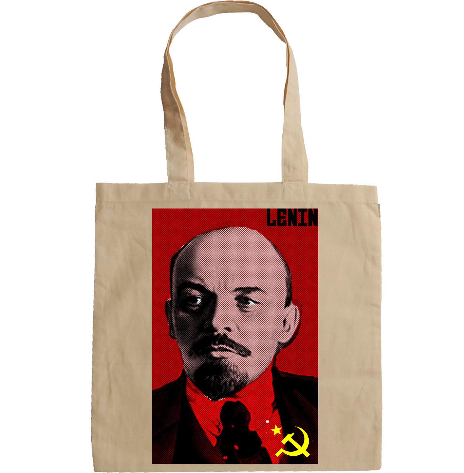 LENIN SOVIET UNION LEADER - NEW AMAZING GRAPHIC HAND BAG/TOTE BAG