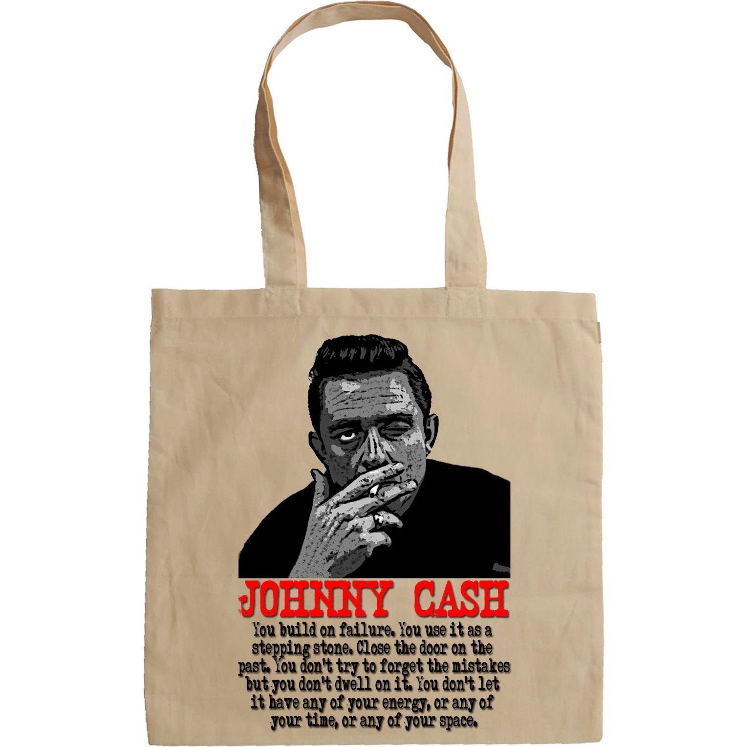 JOHNNY CASH SINGER LEGEND - NEW AMAZING GRAPHIC HAND BAG/TOTE BAG
