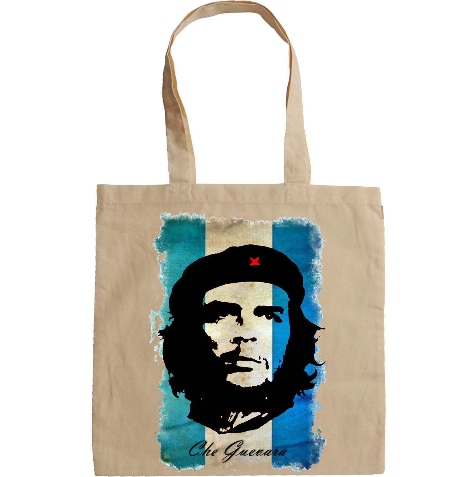 CHE GUEVARA ARGENTINA FLAG - NEW AMAZING GRAPHIC HAND BAG/TOTE BAG
