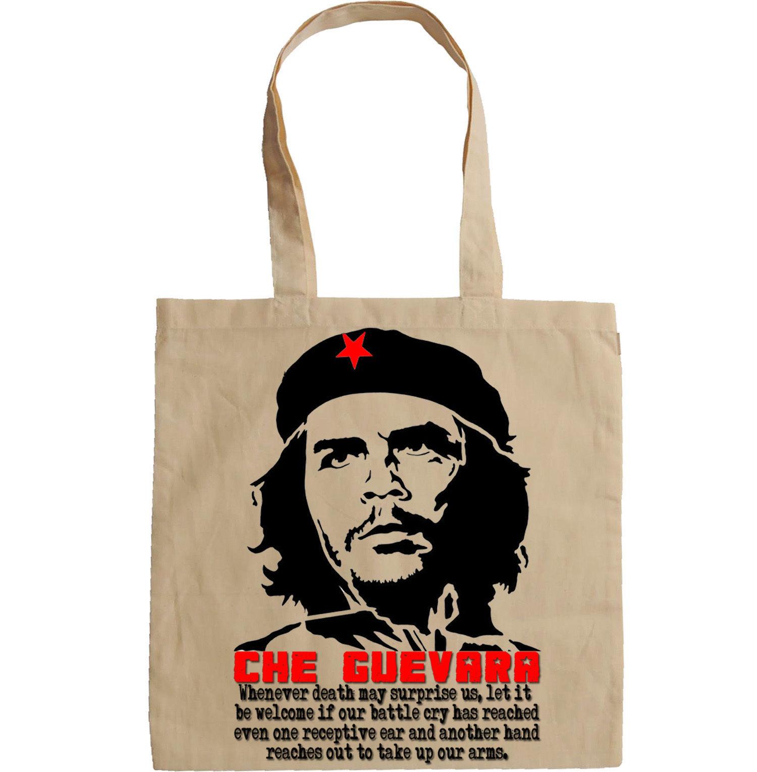 CHE GUEVARA CUBA REVOLUTION QUOTE - NEW AMAZING GRAPHIC HAND BAG/TOTE BAG
