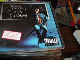 CLASS CLOWN CD SIGNED 2X BY GEORGE CARLIN - $186.90