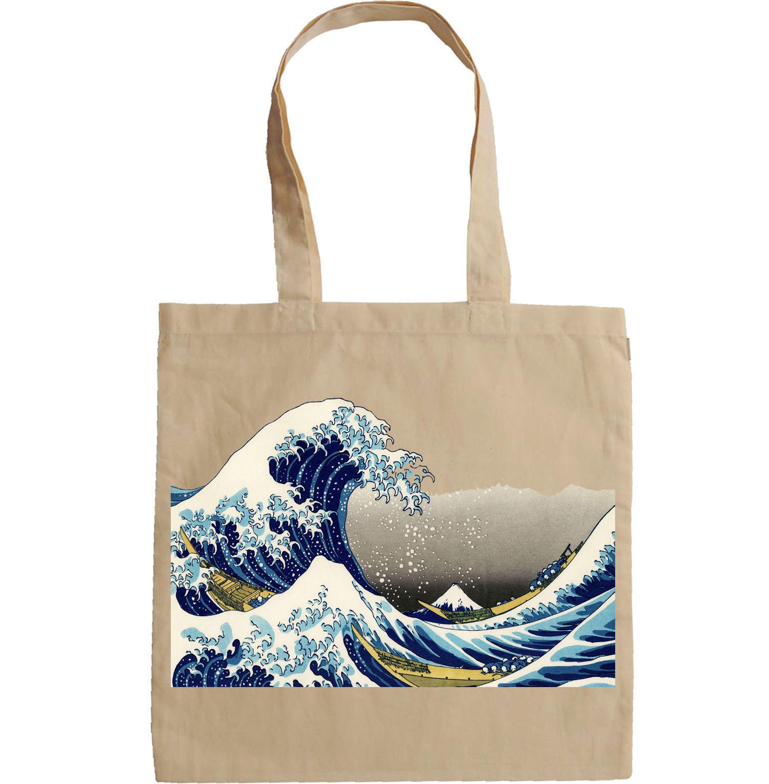 THE GREAT WAVE OFF KANAGAWA - NEW AMAZING GRAPHIC HAND BAG/TOTE BAG