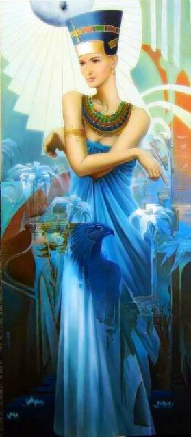 Queen Nefertiti Ultimate Egyptian Magick Eternal LOVE Sex BEAUTY Attraction Sz 8