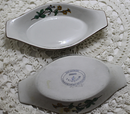 Two Citation WOODHILL Au Gratin Baker Microwave Oven Bakeware Baking Dish Bowl