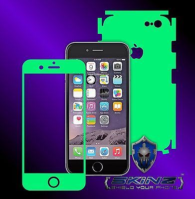 "iPhone 6 / 6S 4.7"" Glow in the Dark Skin, Full Body Shield, Case Cover Protector"