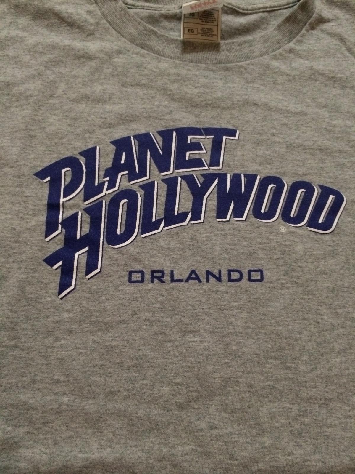 "Planet Hollywood "" Orlando "" Cool T-Shirt Sz XL  Florida  Great Piece!"