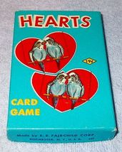 Vintage Children's Card Game Hearts Complete by Fairchild - $7.95