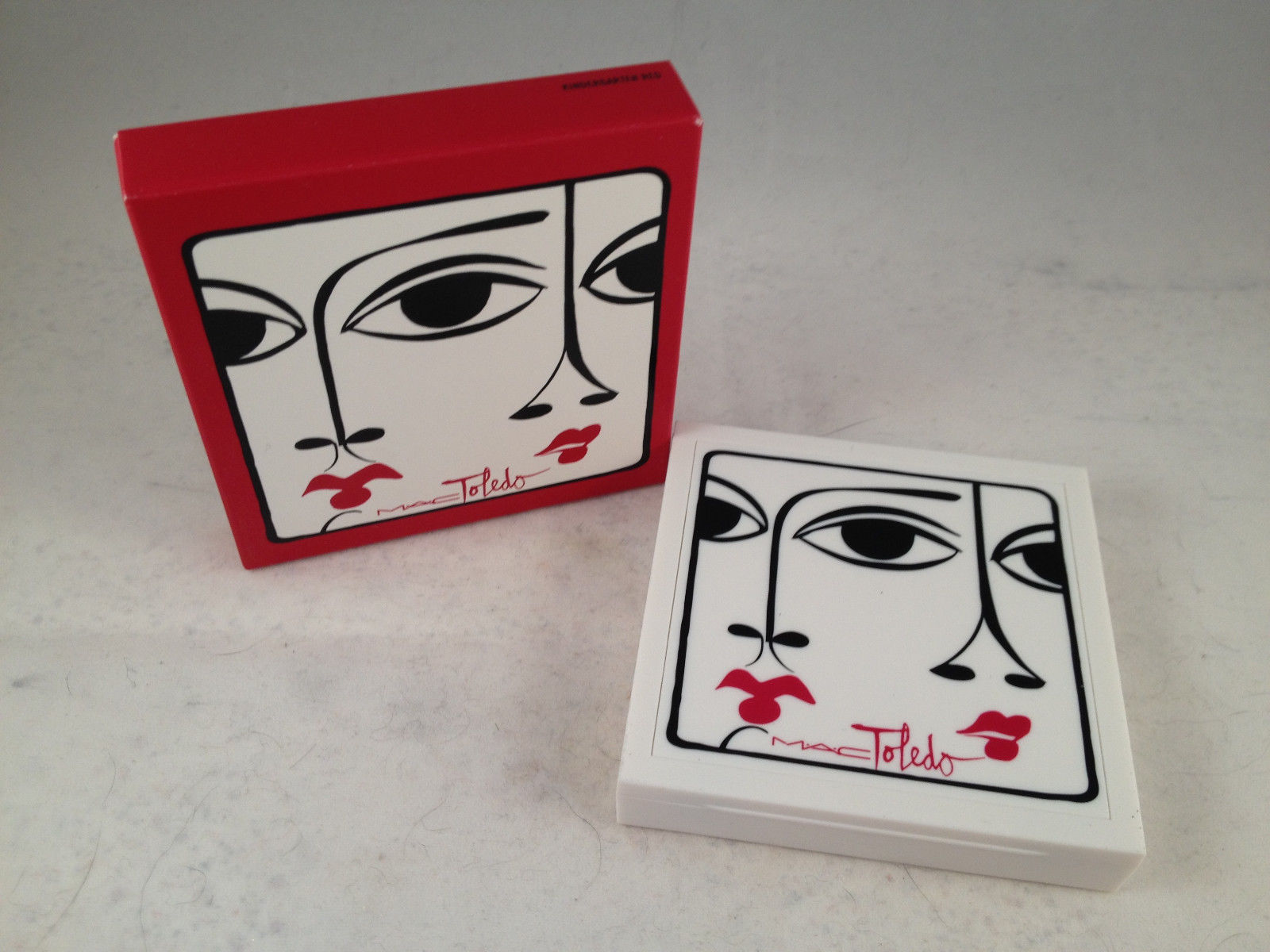 MAC Cosmetics Isabel and Ruben Toledo Collection Blush Ombre Kindergarten Red