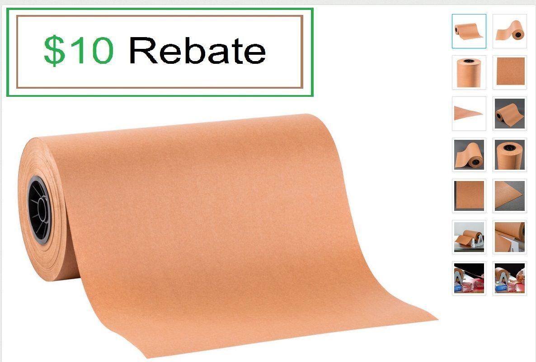 "15"" x 700' 40 lb. Peach Treated Butcher Paper Roll BEST PRICE FREE FedEx"