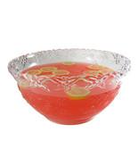 New! Fineline Platter Pleasers 3512 10 qt. Clear Plastic Punch Bowl Ca$h... - $19.31