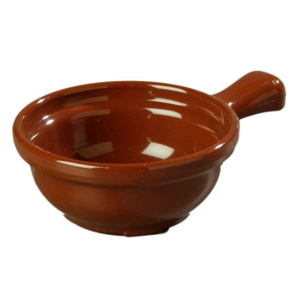 Carlisle 700628 8 Oz. Lennox Brown Handled Soup Bowl 24 / PACK Lowest$  free gft