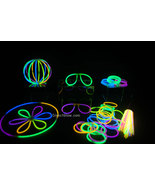 "50- 8"" Assorted Glow Stick Bracelets Party Pack - $9.95"