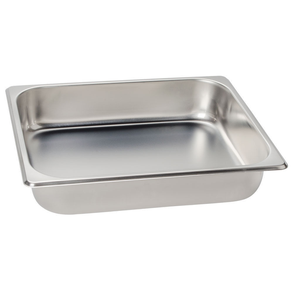 1/2 Size CHAFER PAN 2 PACK CATERING HOTEL CHAFING DISH HALF PANS