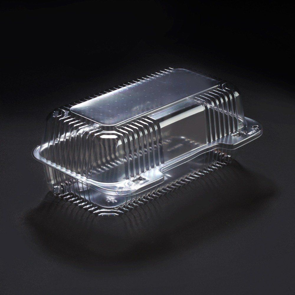 """Dart Solo C35UT1 9"""" x 5 6/16"""" x 3 1/2"""" Clear StayLock Plastic Container 250 CASE"""