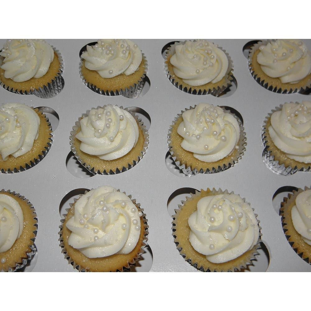 """Window Cupcake Box with Insert 10"""" x 10"""" x 5""""  10 Pack BEST PRICE HOLDS 12"""