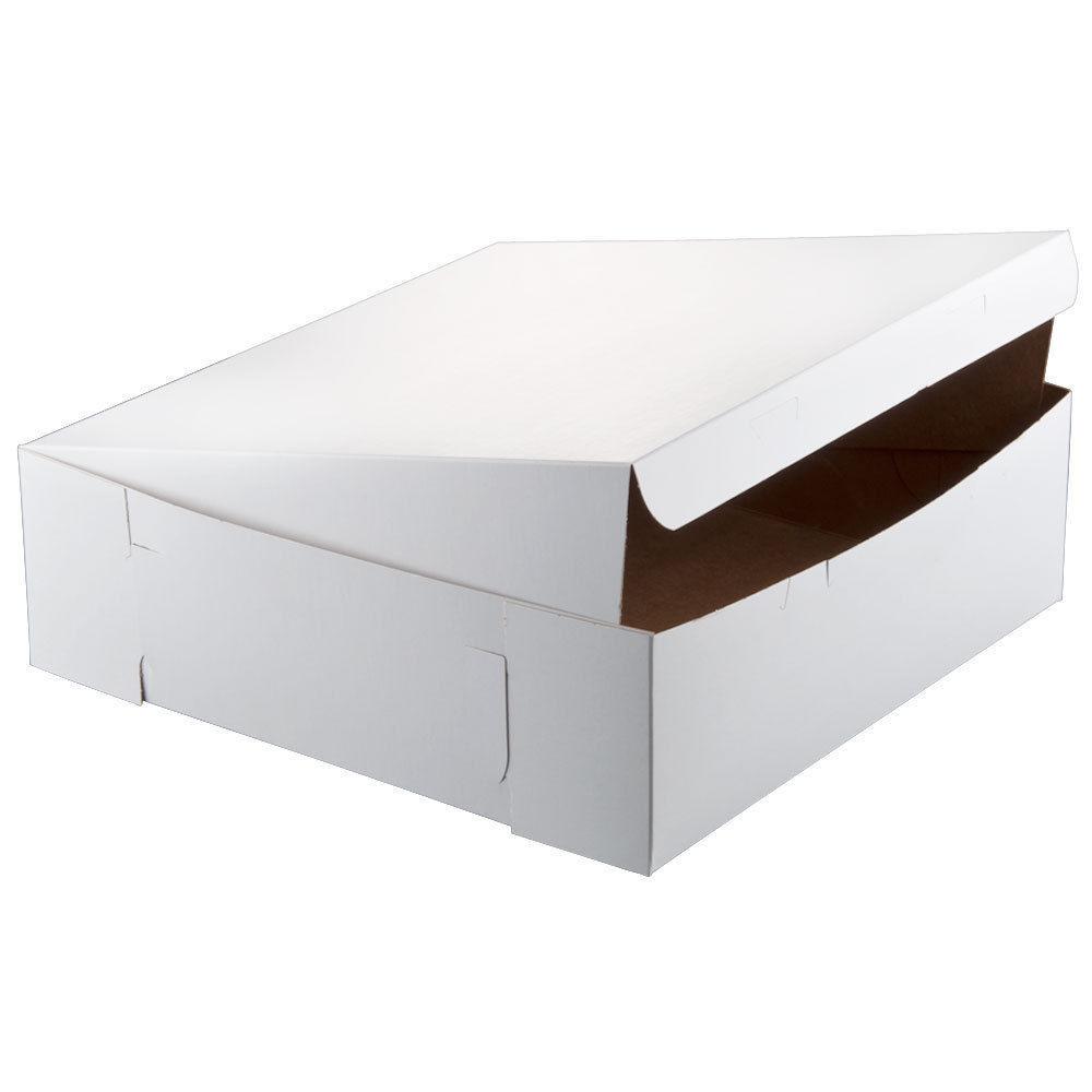 "16"" x 16"" x 5"" White Cake  Bakery Box - 50 PACK Bundle BEST PRICE! FREE FEDEX!"