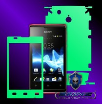 Sony Xperia E - Glow in the Dark Skin, Full Body Case Cover Protector - $7.99