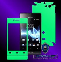 Sony Xperia Miro - Glow in the Dark Skin, Full Body Case Cover Protector - $7.99