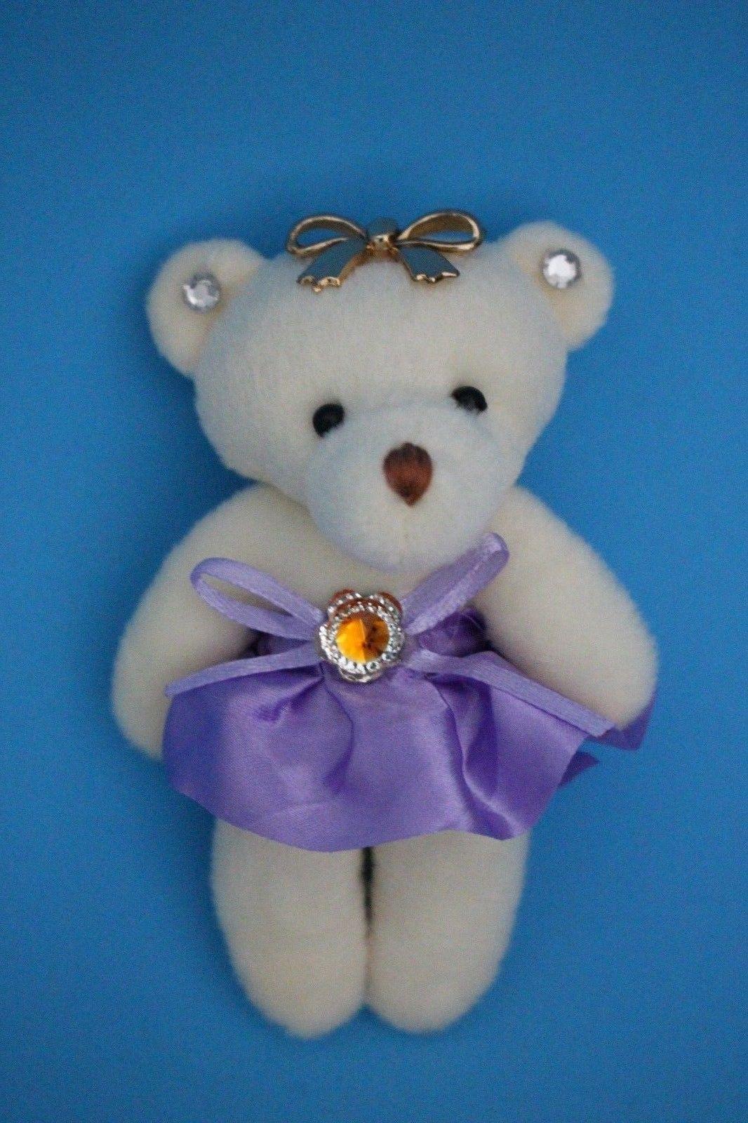 1 Dozen Wooden roses bouquet(White + Orange)-- Special Gift for Her w/ Free Bear