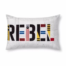 "Star Wars Ep. 9 Flyboy Pillowcase 1 Reversible PillowCase ""Rebel"" Star W... - $13.99"