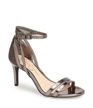 NIB Jessica Simpson MAYETTA Gunmetal Mesh Strappy Dress Sandals Size 8 MSRP $79 - $24.99