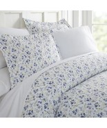Casual Comfort Premium Ultra Soft 3-pc. Blossoms Print Duvet Cover Set, ... - £43.23 GBP