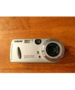 Sony Cyber-shot 3.2 Mega Pixels - DSC-P52 - W/128 MB Photo Stick, Batteries GUC - $19.80