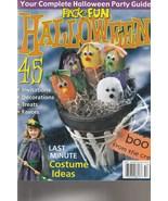 Pack-0-Fun Magazine Halloween 2005 - $5.99