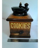"Vintage Coffee Grinder Cookie Jar 10"" X 7""  - $29.69"